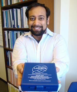 Nab Dasgupta's overdose prevention kit is saving lives.