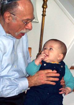 Jonathan Kotch is known nationally for strengthening policies to protect children, including his grandson, Daniel, shown here.