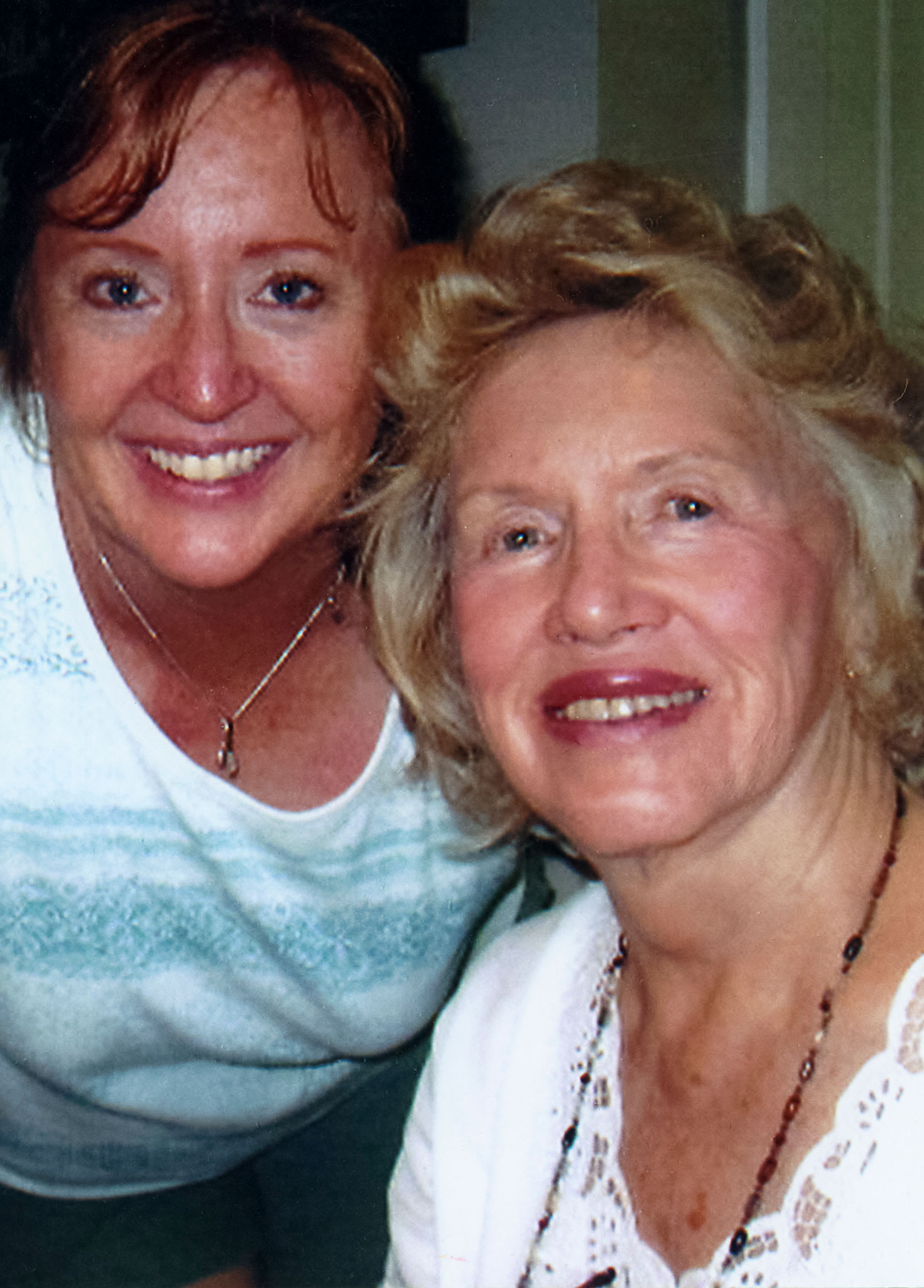 Melinda, with her mother Eunice