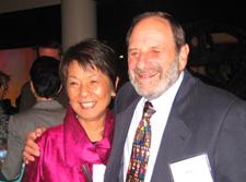 Dr. Eugenia Eng and Dr. Allan Steckler