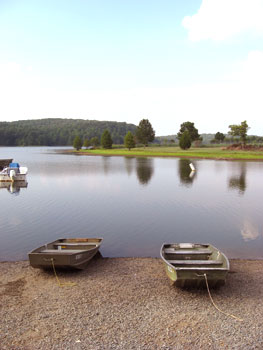 The Cane Creek Reservoir