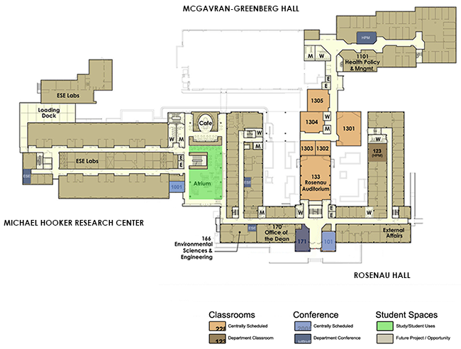 Classroom Layout Research : Labs classrooms and spaces unc gillings school of