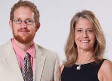 Hibbard (left), with Diane Fryer Medcalf