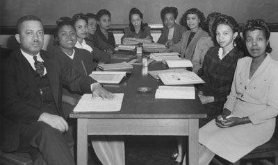 First Health Education class at N.C. College for Negroes