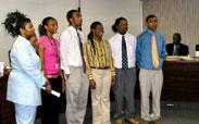 Northampton High School students