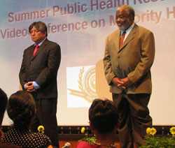 Presenters at the 2010 Summer Public Health Institute and Videoconference on Minority Health