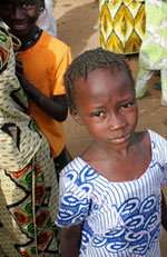Lavasani worked to improve children's nutrition in Senegal.