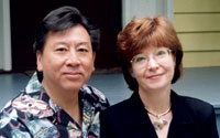 Tom Wong, PhD, MPH and Sandy Moulton, JD, MPH