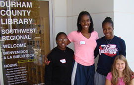 McGirt held a Healthy Girls workshop in Durham, N.C., in October 2011.
