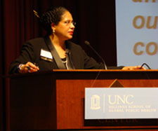 Dr. Barbara C. Wallace speaks at 2009 Minority Health Conference