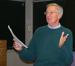 Ned Brooks teaches health policy and management.