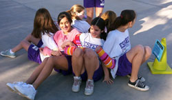 Sierra Middle School girls in TAAG study