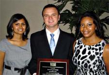 (L-R) Presha Patel, Gregory Mascavage, Jessica Folmar
