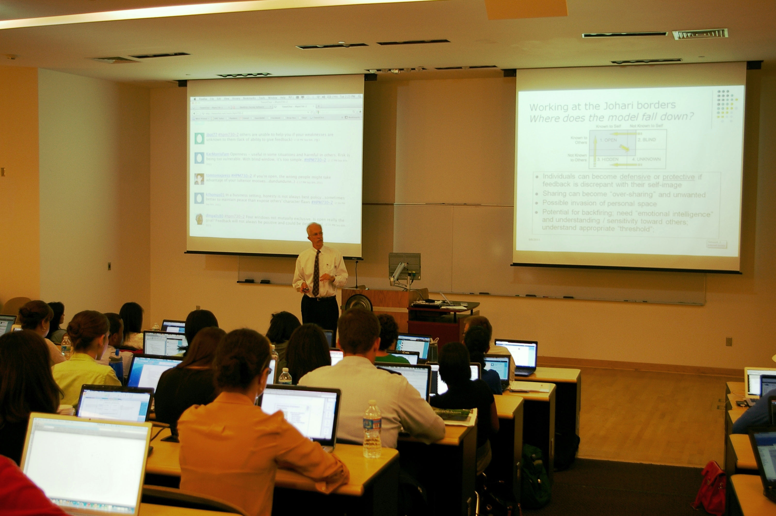 Dr. John Paul uses new technologies to boost student engagement.