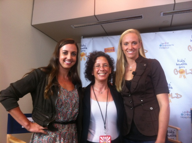 Rebecca Soni, Penny Gordon-Larsen, and Dana Vollmer