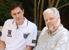 Dr. Ivan Rusyn (left) and Dr. Andy Olshan
