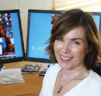 Dr. Christine Rini uses technology to help people manage pain.