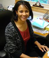 Dr. Anissa Vines (photo by Linda Kastleman)
