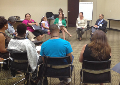 On May 16, 2013, community members came together to discuss the findings of the Wake CHA and vote on priority issues.