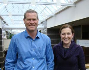 Dr. Kurt Ribisl and Jessica Boten