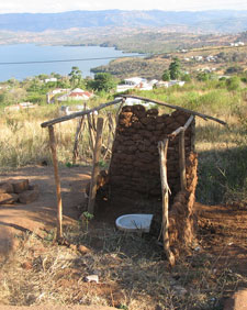 A latrine in South Africa. Photo by Sustainable Sanitation Alliance.