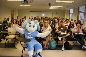 Rameses and students