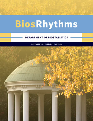 Cover of the 2017 BiosRhythms newsletter.