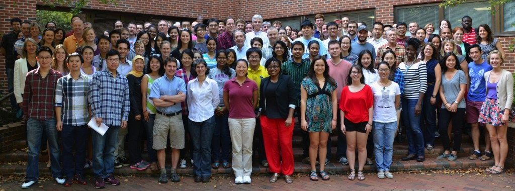 Faculty, staff and students from Fall of 2014