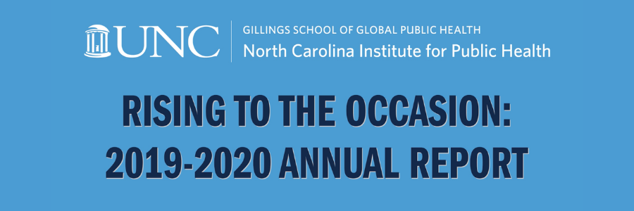 Rising to the Occasion: the 2019-2020 NCIPH Annual Report
