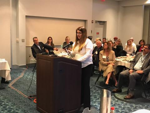 Patricia Boswell speaks to local leaders in Florida about COVID-19.