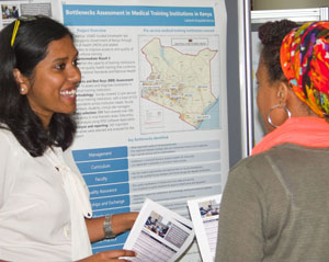 Lakshmi Gopalakrishnan talks about practicum with IntraHealth in Kenya.