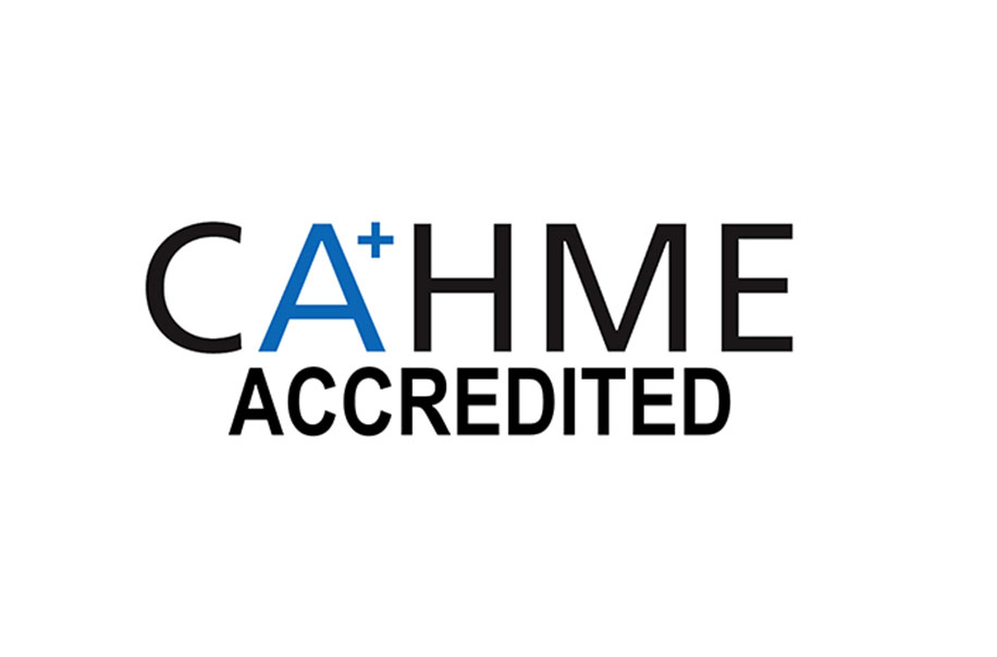 CAHME Accredited visual identity