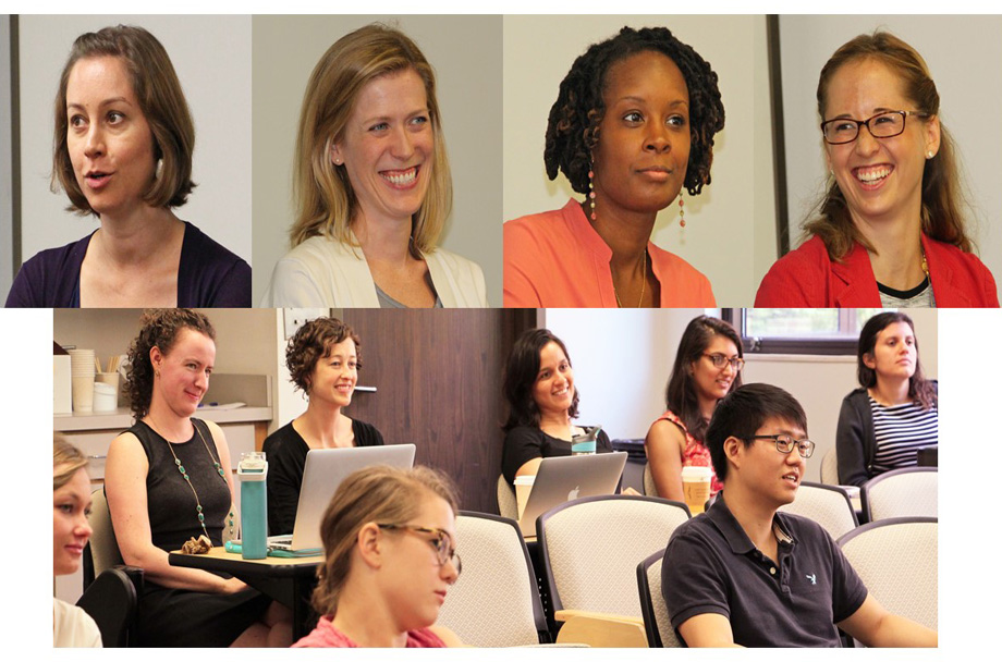 MCH doctoral graduates served as panelists forl: Career advice for non-academic and academic jobs
