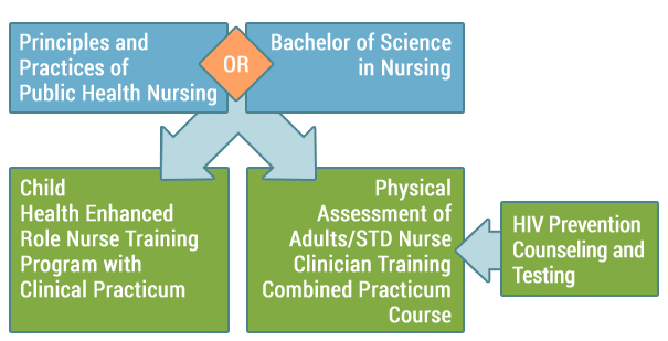 Enhanced Role Registered Nurse course sequence