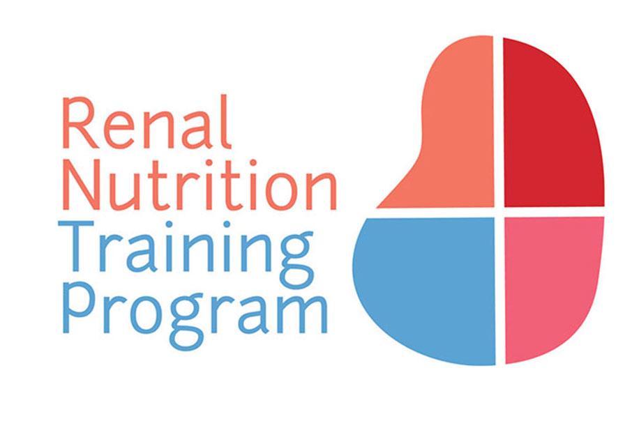 Renal Nutrition Training Program visual identity