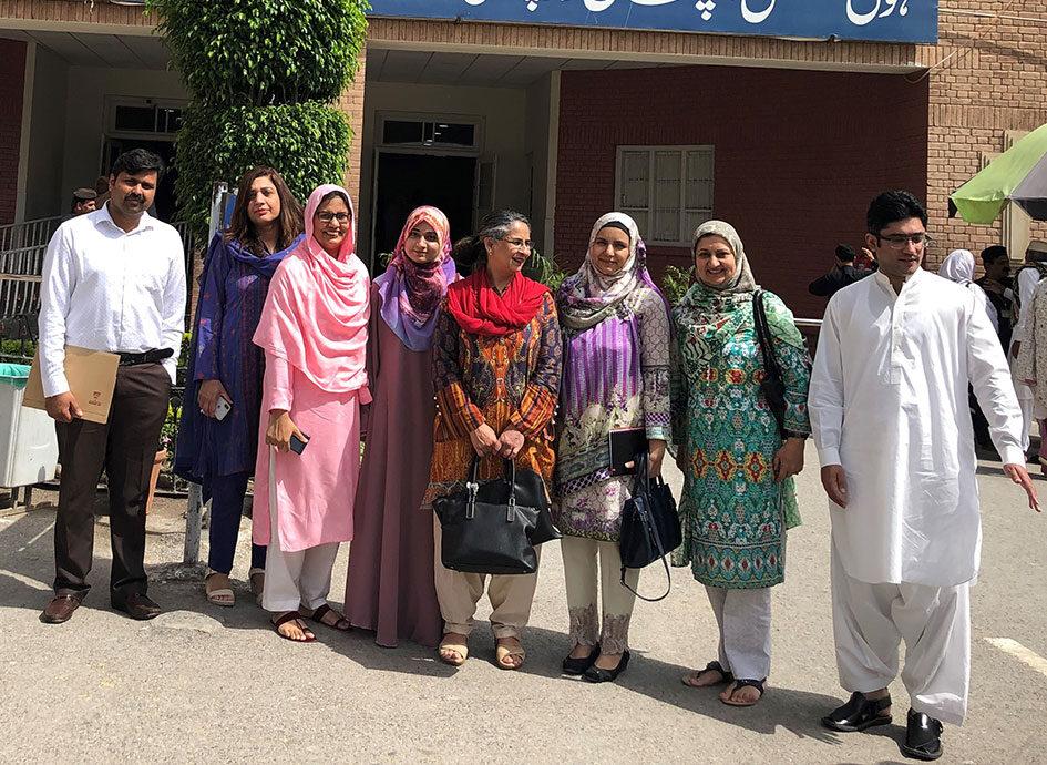 WHO CC team members in Pakistan