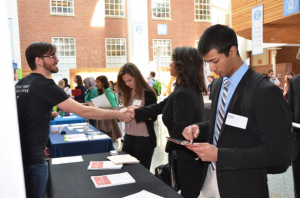 Public health student career fair
