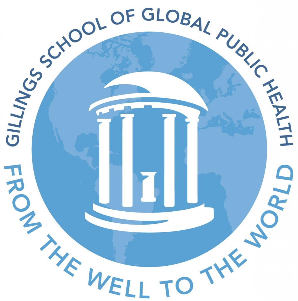 "UNC Gillings ""From the Well to the World"" Logo"