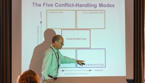 Steve Orton presenting at NC Public Health Association Educational Conference, September, 2013.