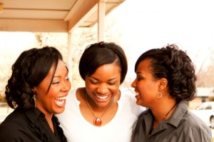 three black women