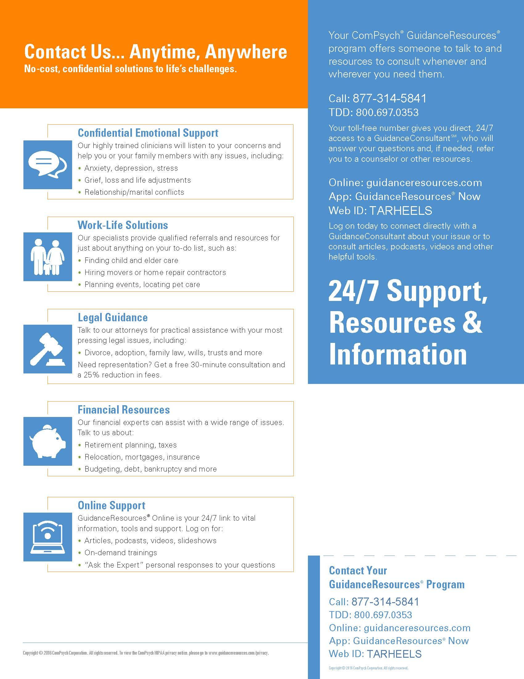 GuidanceResources Flyer