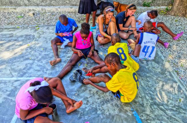 (HB)MPH_students_Haiti_trip