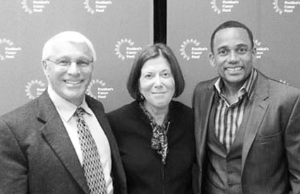 Dr. Owen Witte, Dr. Barbara K. Rimer and Hill Harper, JD, serve on the President's Cancer Panel.