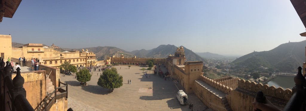 Amber Fort Panorama. Photo by Meagan Brown
