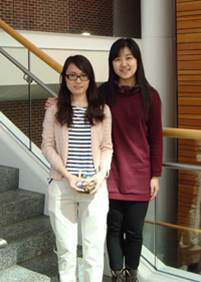 bonnie and yuanyuan Qin