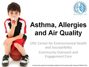 asthma allergies and air quality