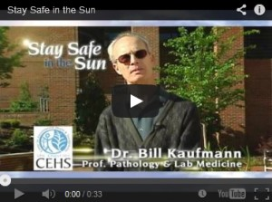 stay safe in the sun