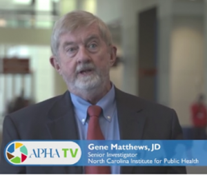 Gene Matthews interview at APHA Conference