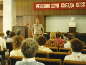 In 1984, Dr. John Anderson gave a talk in Krasnodar, Russia (then the U.S.S.R.), about the impact of diet upon chronic diseases.
