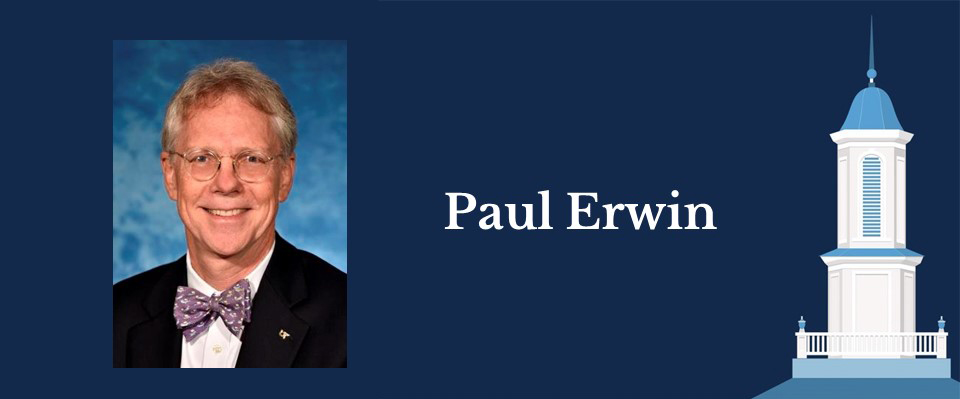Portrait of Health Policy and Management alumnus Paul Erwin